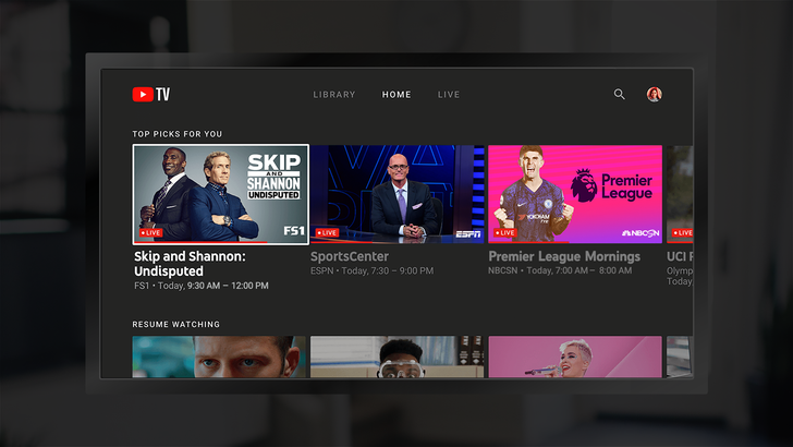 YouTube TV now allows you to mark shows as watched