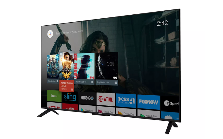 "This 55"" 4K Android TV is just $215 at many Target locations"