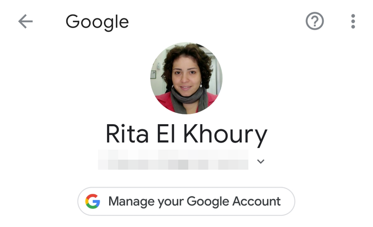 Redesigned 'Google' section in Settings spotted, matches Google Account changes from last year