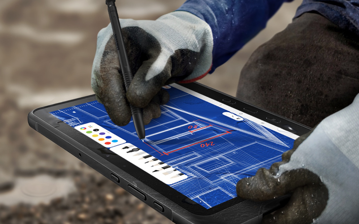 Samsung's Galaxy Tab Active Pro is a rugged Android tablet coming to U.S. job sites