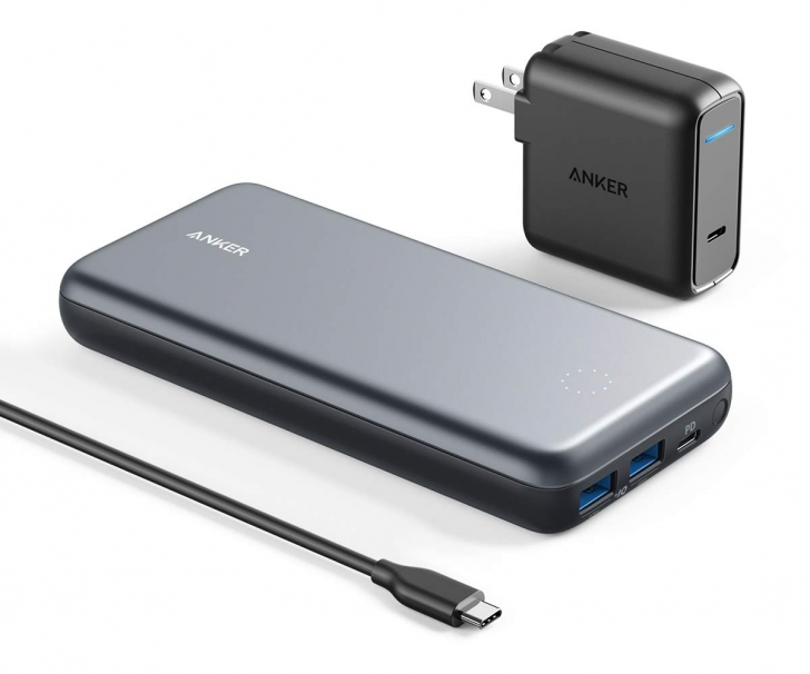 Grab Anker's 19,000mAh battery with 27W USB-C and a charger for $60, an all-time low ($70 off)