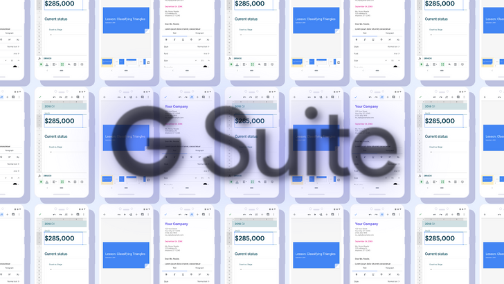 Latest Material Design for Docs, Sheets, and Slides rolling out to G Suite accounts