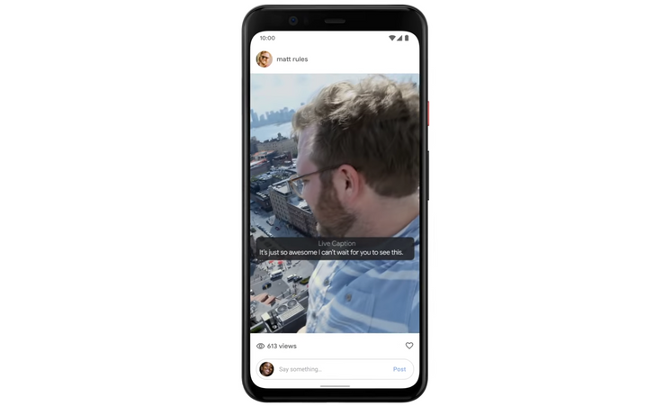 Live Caption is a Pixel 4 exclusive at launch, will come to Pixel 3 and 3a in December (Update: And here it is)