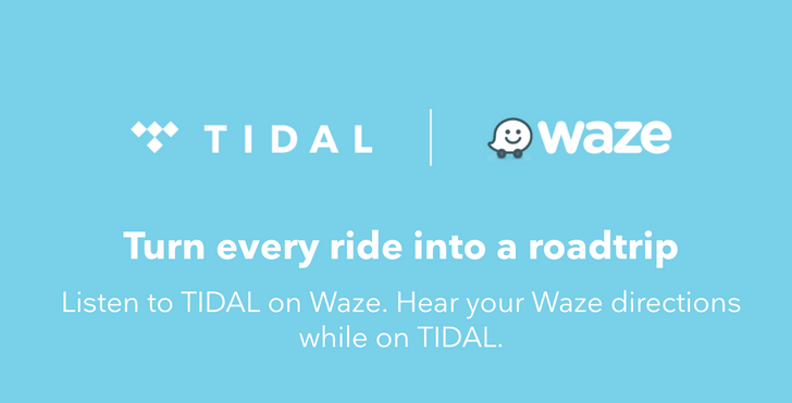 Waze and Tidal partner up to let you safely enjoy your music on the road