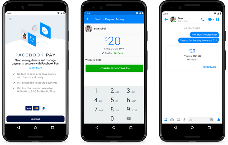 Facebook Pay unifies payments across its family of apps