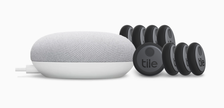Get 8 Tile Sticker trackers plus a Google Nest Mini for $100 ($109 off)
