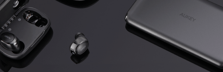 Save up to 40% on Aukey earbuds, chargers, and power banks this Black Friday