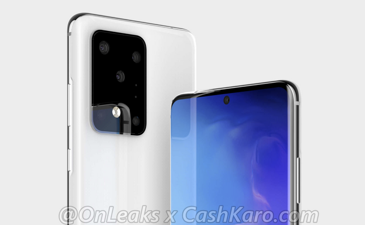 Galaxy S11+ renders show the derpiest camera hump you've ever seen