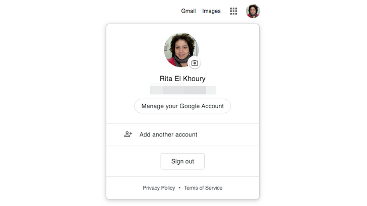 Google account switcher for web gets new material design treatment