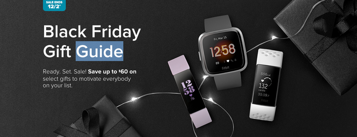 Fitbit Black Friday deals include $69 Inspire HR, $99 Charge 3, and $149 Versa 2