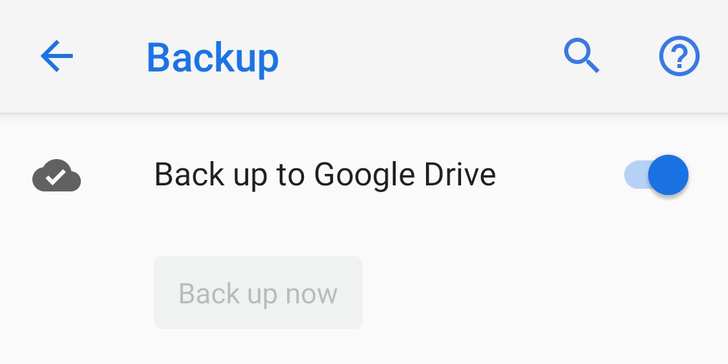 Android backups to Google Drive have been disabled on many phones for months — no proper fix in sight