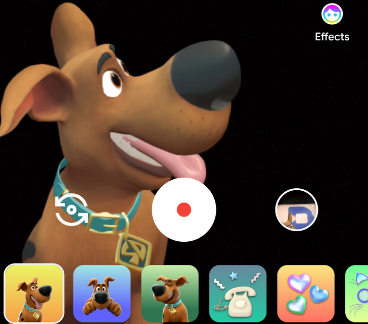 Google Duo adds 3 cute Scooby-Doo video message effects
