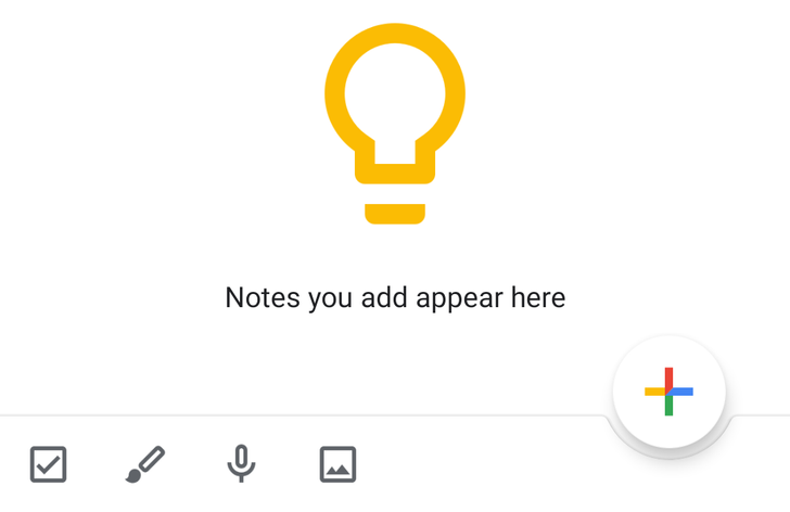 Google Keep tests new bottom bar that brings back the FAB [APK Download]