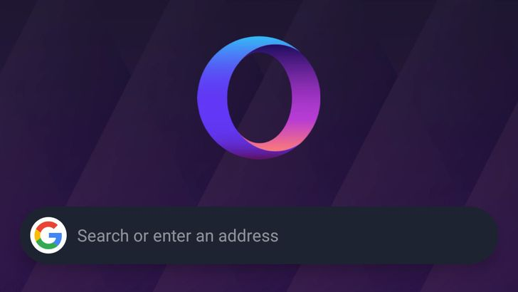 Opera Touch can now sync with Android 10's system theme