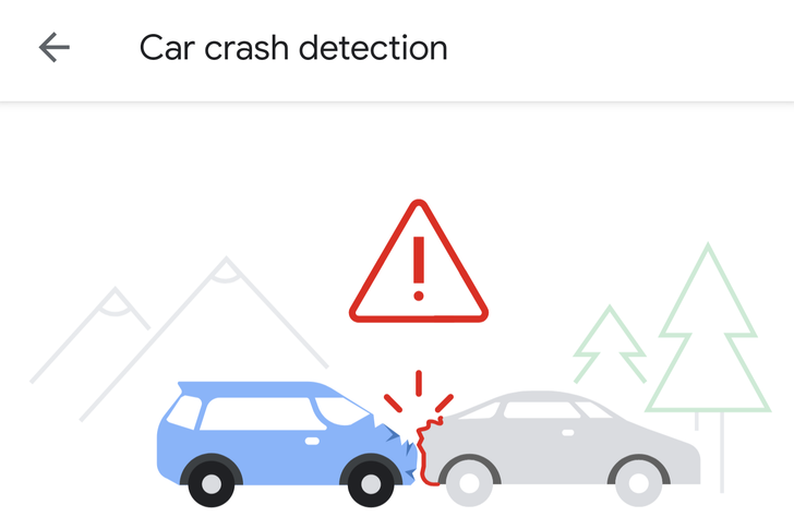 How to enable car crash detection and 911 dialing on the Pixel 4