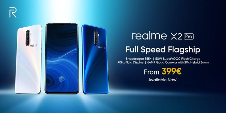 The Realme X2 Pro is now on sale in Europe for €399