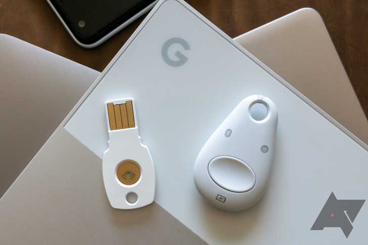 Google Advanced Protection users can gift friends a free Titan security key set (and get their own free Nest Mini)