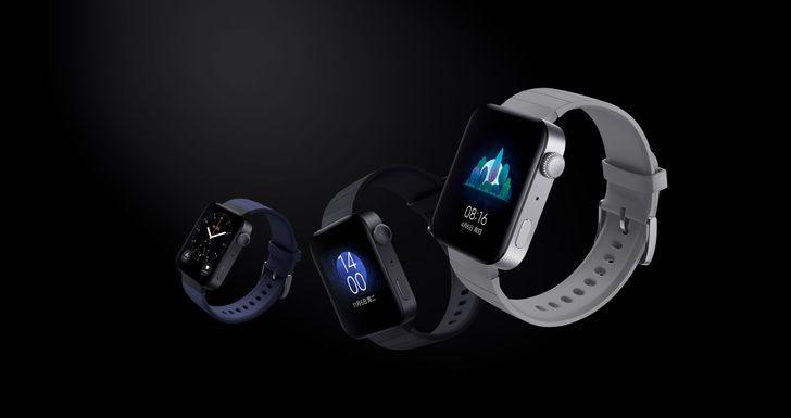 Xiaomi Mi Watch is a blocky Apple Watch lookalike running a custom version of Wear OS