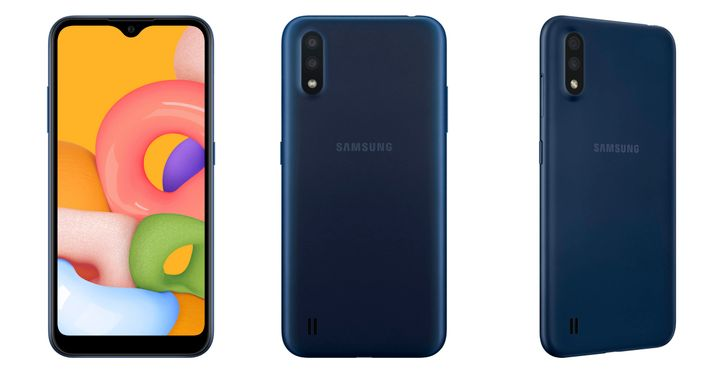 Samsung makes entry-level Galaxy A01 official with lots of storage, no bells and whistles (Update: Corrected specs)