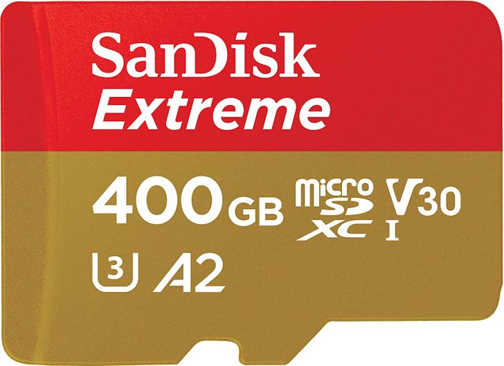 SanDisk's 400GB Extreme MicroSD card drops to $73, the lowest it's ever been