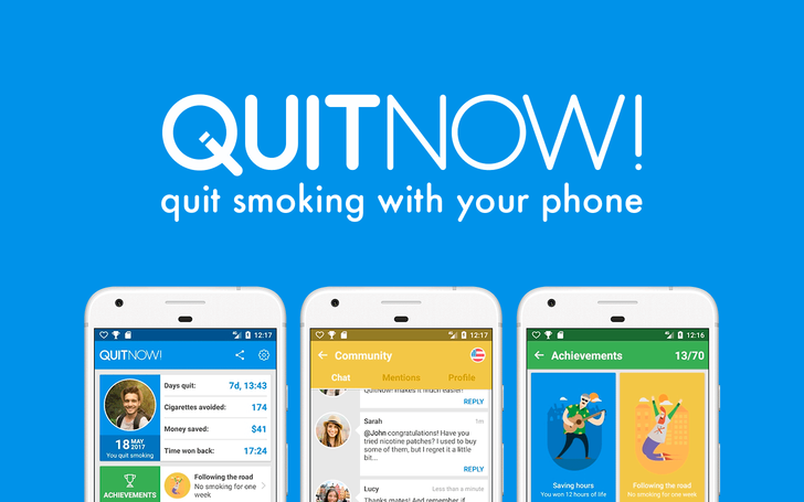 Help kick your smoking or vaping habit with the free QuitNow! app (Sponsored Post)