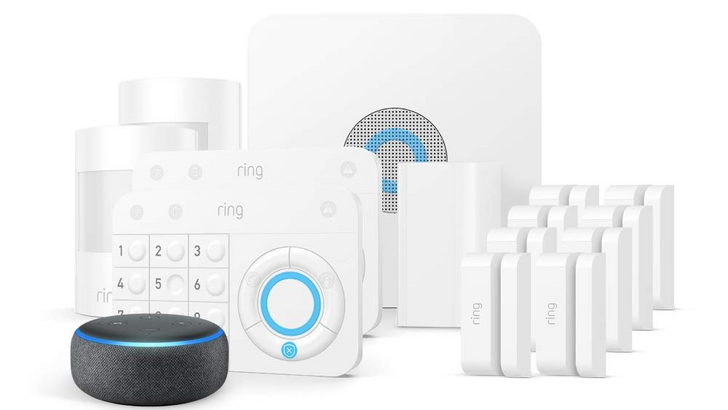 Ring's 14-piece smart security system is down to just $230 and comes with a free Echo Dot ($100 off)