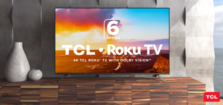 "TCL 65"" 4K LED Roku TV on sale for $500 ($230 off), includes a free Nest Mini"