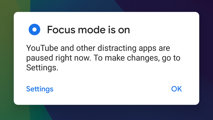 Android's 'Focus Mode' leaves beta, now available on all Digital Wellbeing devices