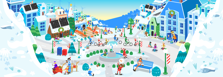 Google and Santa are teaming up to bring the festive spirit to your devices (Update: APK Download)