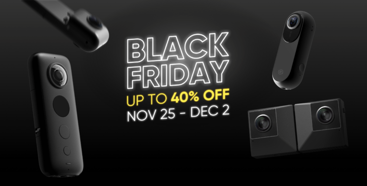 Insta360 Black Friday sale drops One X to $339 ($61 off), other models and accessories up to 43% off