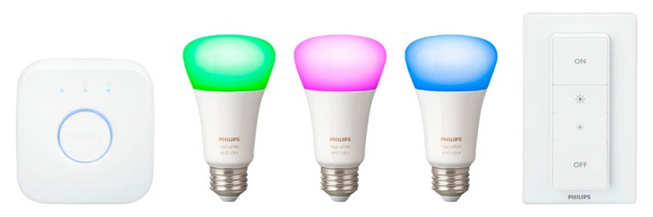 Brighten up your smart home with a Philips Hue 3-bulb starter kit at Best Buy for $120 ($70 off)