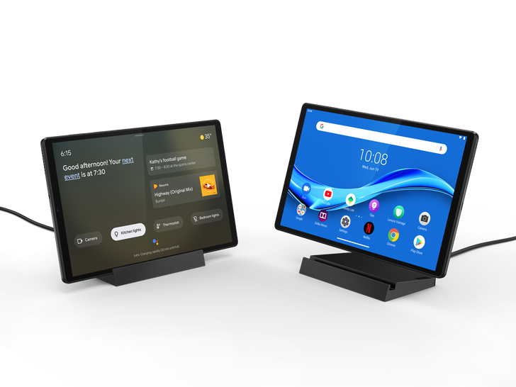 Lenovo unveils new Smart Tab M10 with Assistant Ambient Mode and a giant 21.5-inch smart photo frame