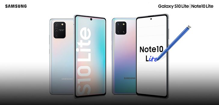 Samsung's Galaxy Note10 Lite and S10 Lite budget flagships are official