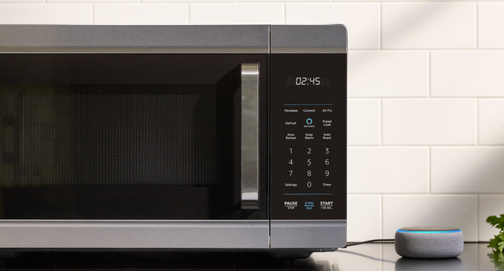 Amazon's Alexa-enabled smart oven is now available for $250