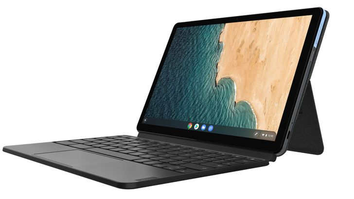 Lenovo's new Chromebooks include a Surface-style tablet and a 13-inch laptop with Thunderbolt 3