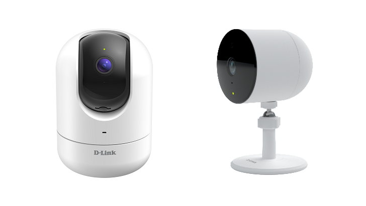 D-Link announces two security cameras with glass break and person detection, no cloud needed (Update: New outdoor cam)
