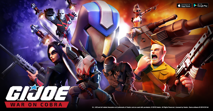G.I. Joe: War On Cobra is the latest collection-based strategy game to arrive on the Play Store (Update)