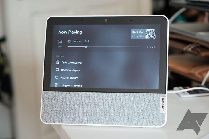 Google gives Assistant smart displays improved multi-room media controls