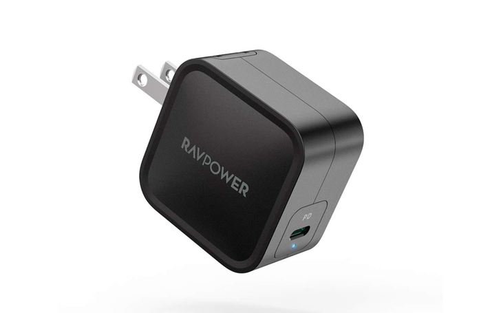 Grab RAVPower's compact 61W USB-C PD GaN wall charger for a new low of $23 ($13 off)