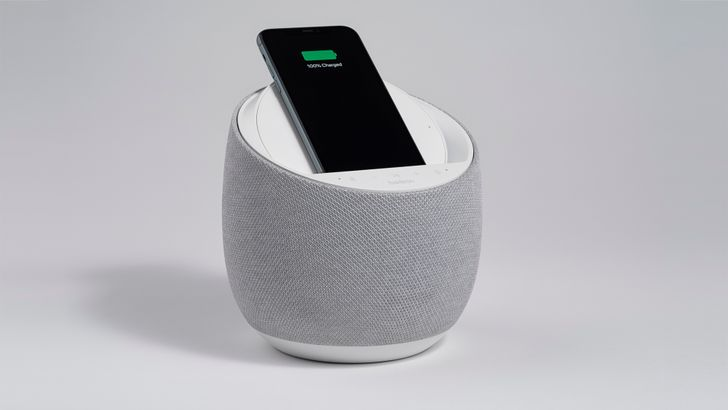 Belkin's Soundform Elite is a Google Assistant smart speaker and wireless charger in one