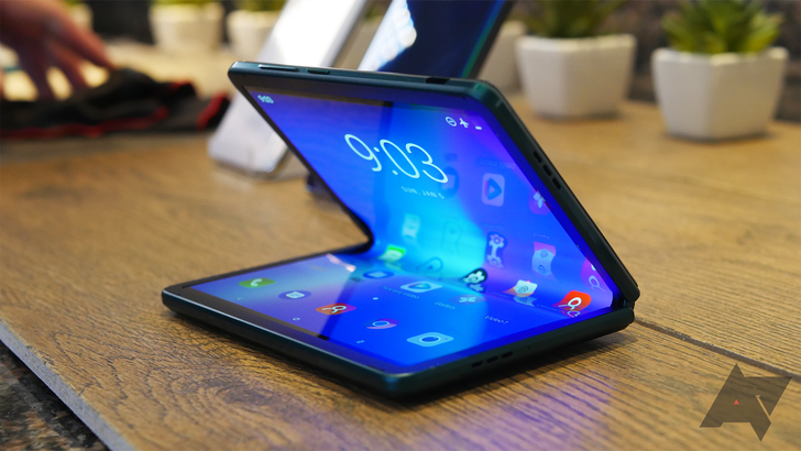 TCL foldable concept hands-on: A promising tease with a long way to go
