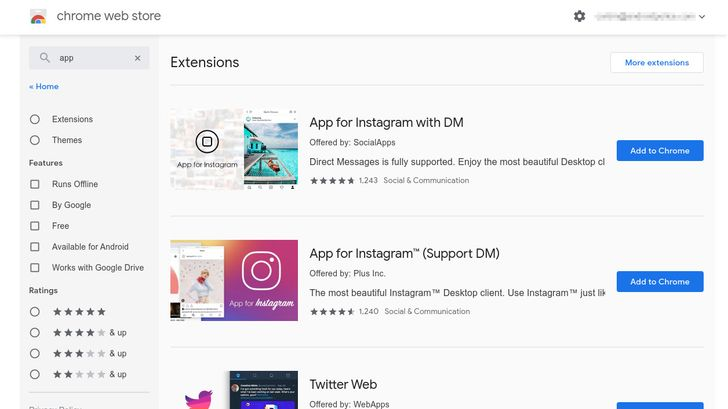 Google will end support for Chrome Web Store apps starting this year