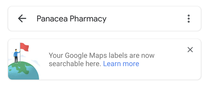 Looking for pics taken at work or a friend's house? Google Photos can now search for your custom Maps labels