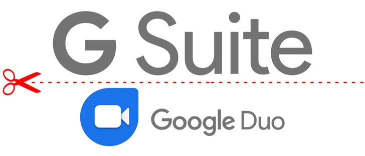 Google removes Duo access for G Suite users (Update: Working again)