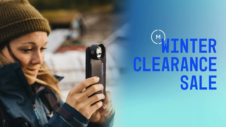 Moment Winter Clearance Sale offers up to 50% off cases, lenses, bags, and more