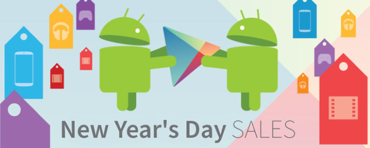 32 temporarily free and 60 on-sale apps and games for New Year's Day