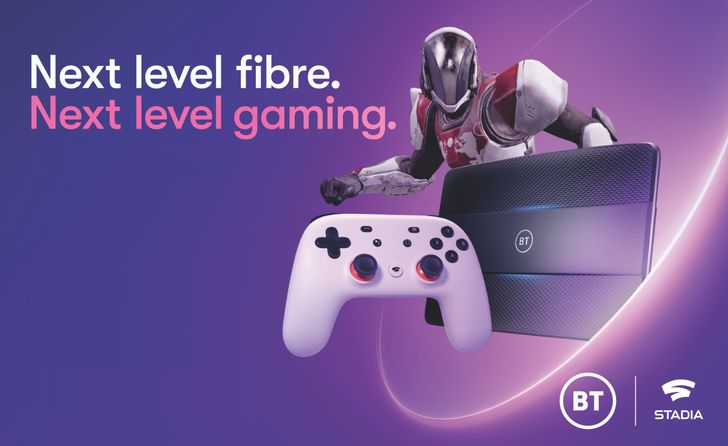 Google and UK network BT launch Stadia broadband bundles