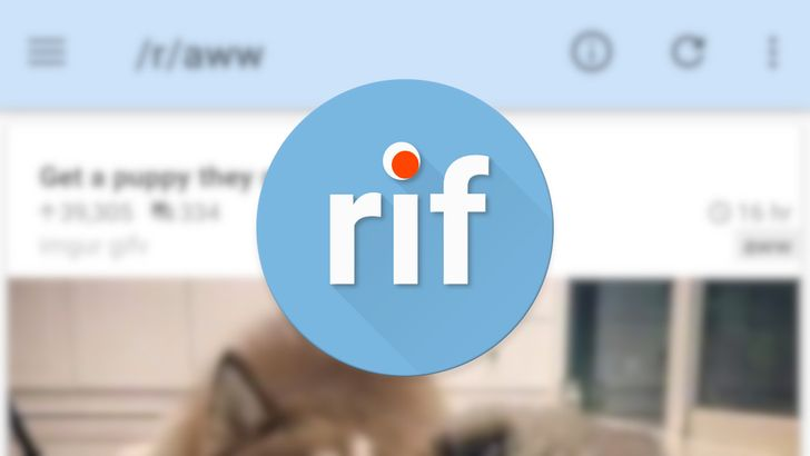 Reddit is Fun now called 'rif is fun for reddit' due to licensing issues
