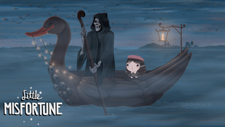 Little Misfortune is a beautiful adventure game that's finally made its way from PC to Android