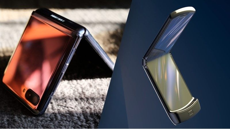 Samsung Galaxy Z Flip Vs Motorola Razr What S Different Between These Two Clamshell Foldables